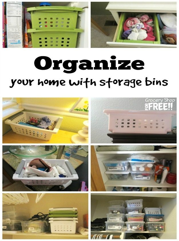 11 Household Organization Tips!  Get Organized On The Cheap!