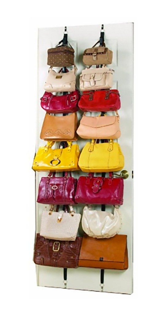 Over the Door Hanging Purse Racks Only $8.35!