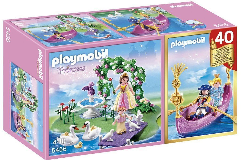 PLAYMOBIL 40th Anniversary Princess Island Compact Set and Romantic Gondola