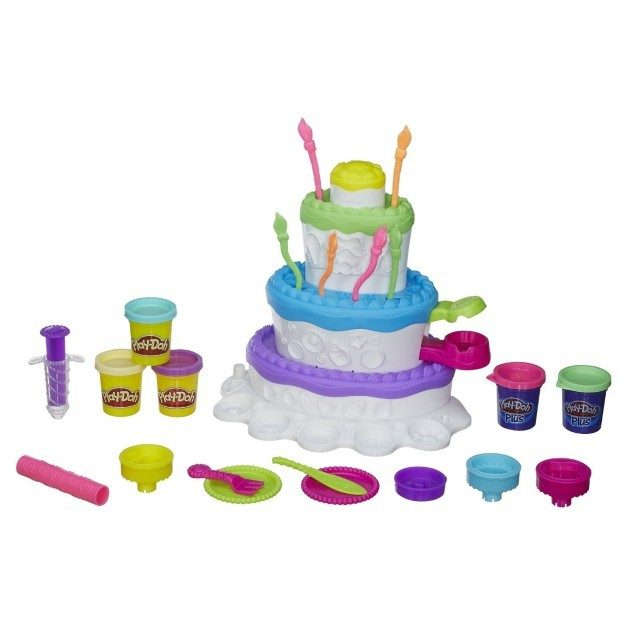 Play Doh Sweet Shoppe Cake Mountain Playset Just $9.81!