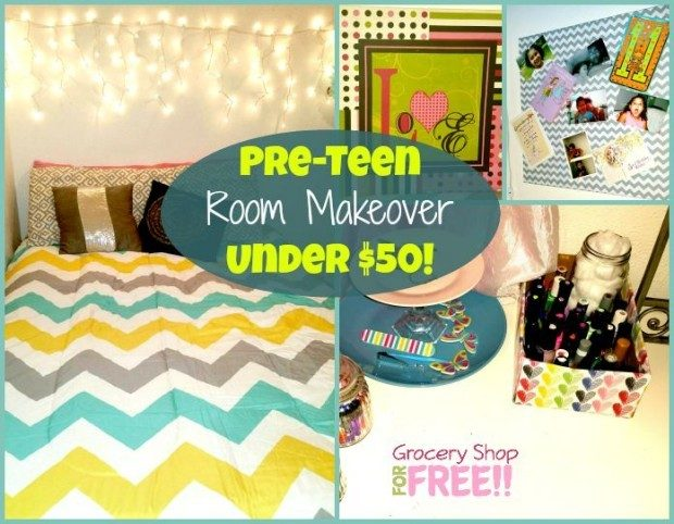 Pre-Teen Room Makeover Under $50!