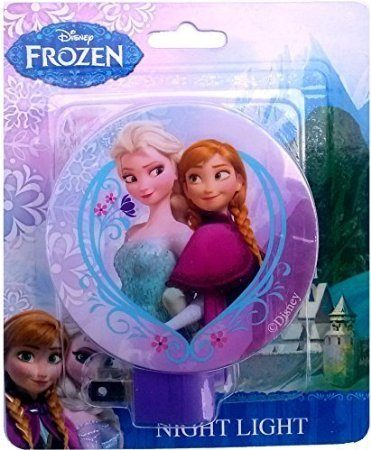 Princess Elsa and Anna Disney Frozen Night Light