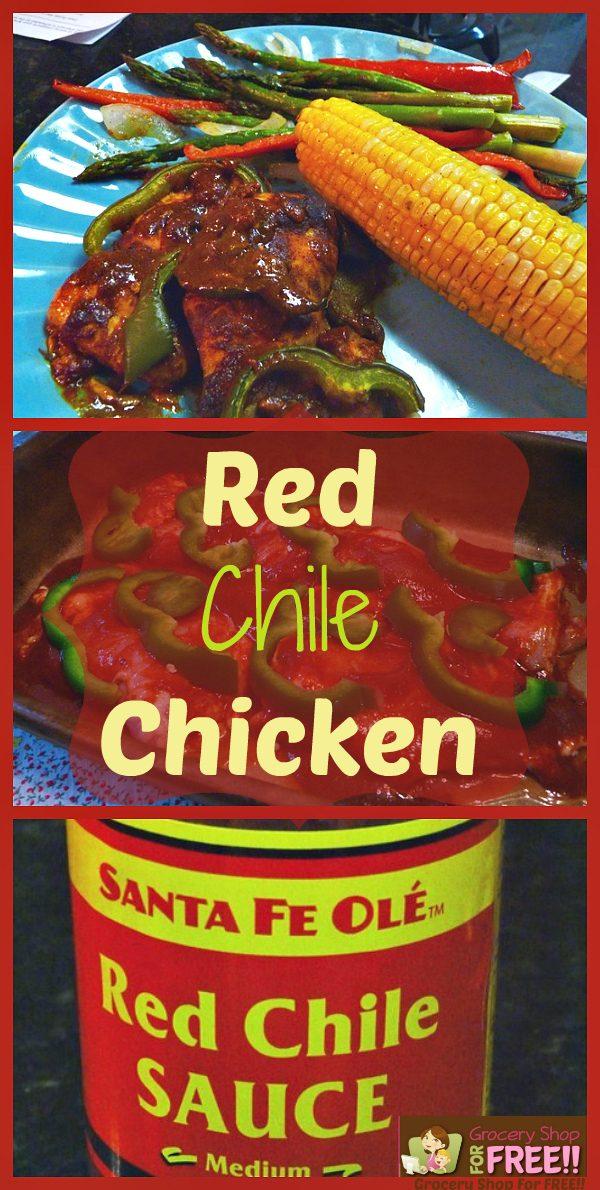 Red Chile Chicken!