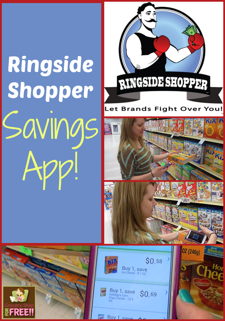 Ringside Shopper Savings App