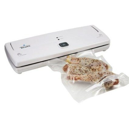 Rival 3 Step Vacuum Sealer with Bag Starter Kit