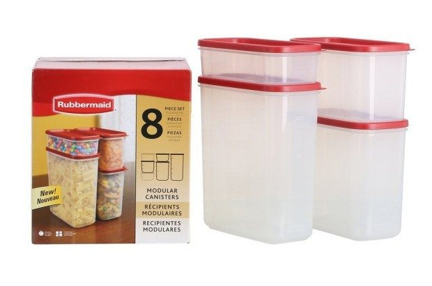 Rubbermaid 8-Pc. Modular Canisters Food System Just $15.97!
