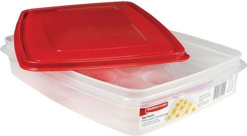 Rubbermaid Specialty Food Storage Containers, Egg Keeper Only $3.99! (reg. $11.94)