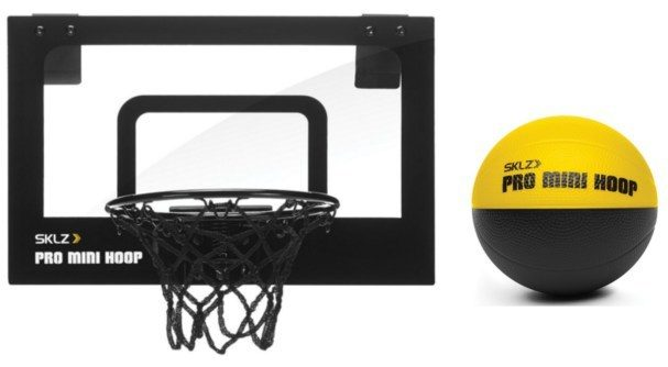SKLZ Pro Mini Micro Basketball Hoop - With Ball Just $14.99!