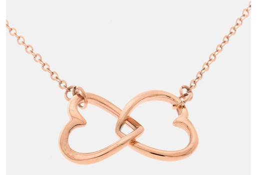 Infinity Double Heart Necklace Only $9.99 Shipped (Reg. $49.99)!