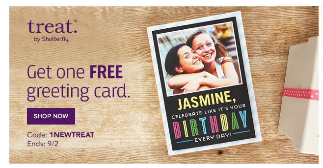 FREE Customized Greeting Card!