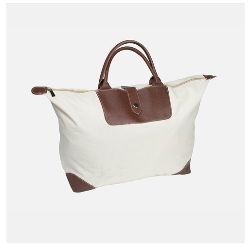 Cute Fold Away Khaki Tote Only $4.99 + FREE Shipping (Reg. $14.98)!