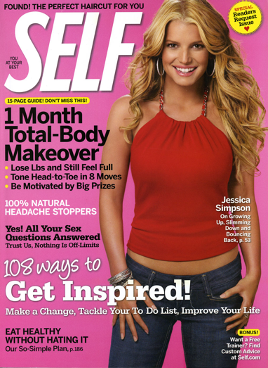 SELF Magazine Only $4.50 For 1 Year (Reg. $36)!
