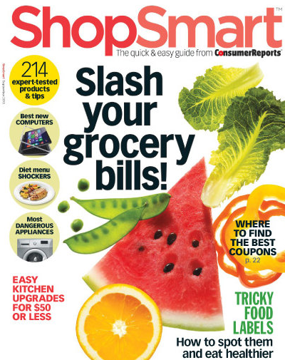 ShopSmart Magazine Only $12.32 A Year (Reg. $49)!