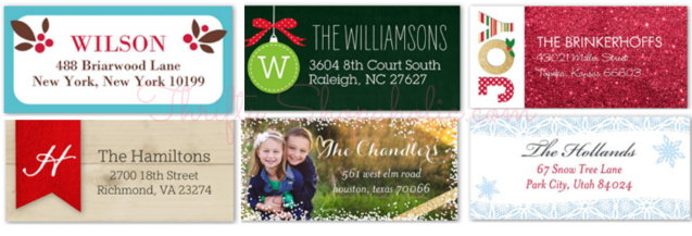 FREE Set of Address Labels