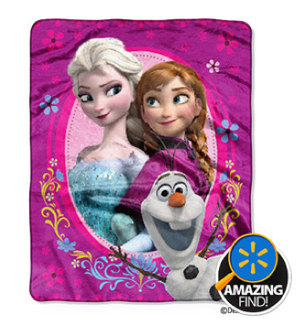 "Disney Frozen Spring Zing 40"" x 50"" Silky Touch Throw Blanket Only $9.96 + FREE Store Pick Up!"