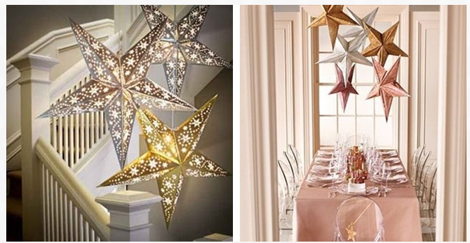 Festive Star Lanterns with LED Lights Just $9.99 (Reg. $15+)!