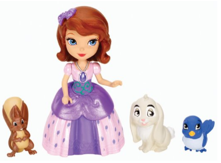 Disney Sofia The First Sofia and Animal Friends Fashion Doll Playset Only $7.49 + FREE Prime Shipping!