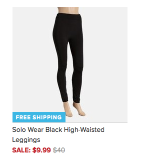 Solo Wear Printed Leggings Only $9.99 + FREE Shipping (Reg. $40)!