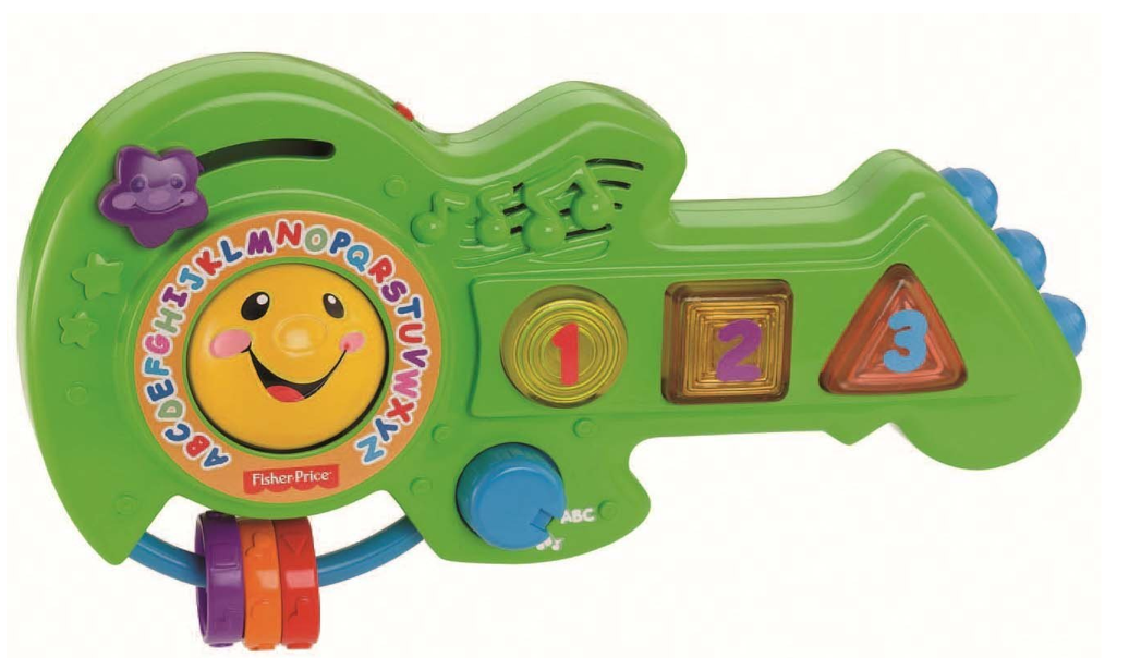 Fisher-Price Rock and Learn Guitar Only $7.19 (Reg. $14.99)!