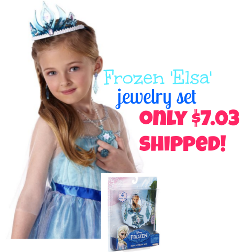 Disney Frozen 4-piece Elsa Jewelry Play Set Only $7.03 SHIPPED!