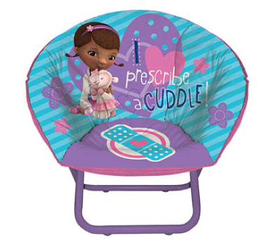 Disney Doc McStuffins Toddler Saucer Chair Just $15.75 + FREE Store Pick Up (Reg. $19.88)!