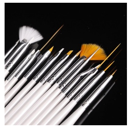 15-piece Nail Art Design Brush Kit Only $2.41 SHIPPED!