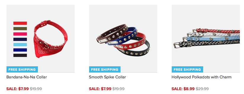 Cute Dog Collars Only $7.99 + FREE Shipping (Reg. $19.99)!