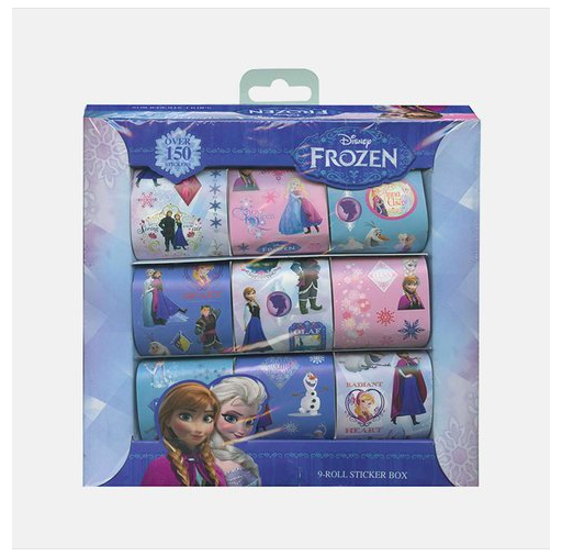 Disney Frozen 9 Roll Sticker Box (150 Stickers) Only $4.99 + FREE Shipping!