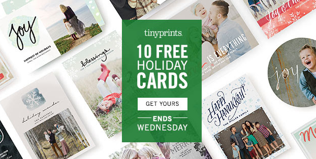 10 FREE Holiday Photo Cards (Just Pay Shipping)!