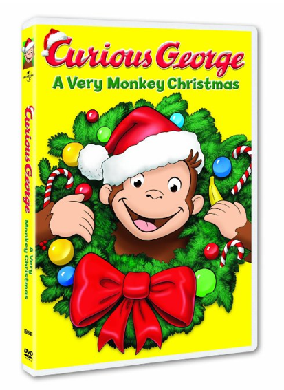 Curious George: A Very Monkey Christmas DVD Just $4.99!
