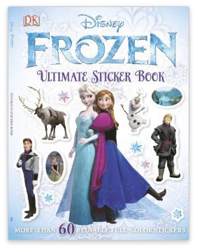 Disney Frozen ULTIMATE Sticker Book $4.19 + FREE Prime Shipping (Reg. $6.99)!
