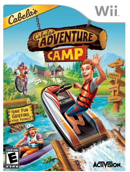 Cabela's Adventure Camp For Nintendo Wii Only $15.80 + FREE Prime Shipping (Reg. $29.99)!
