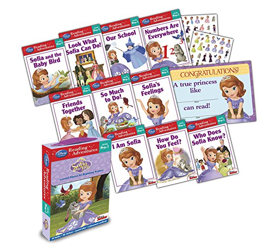 Sofia the First  Reading Adventures Level Pre-1 Boxed Set Only $5.99 + FREE Prime Shipping (Reg. $9.99)!