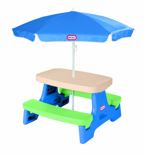Little Tikes Easy Store Junior Table with Umbrella $42.99 (Reg. $70)!