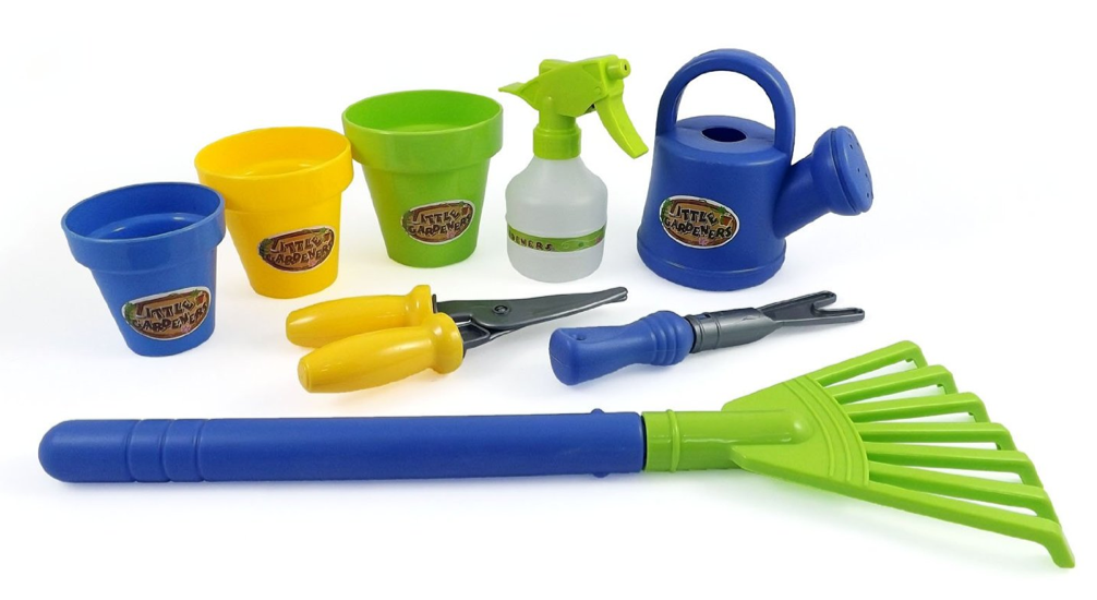 Little Gardeners 8 Piece Gardening Tool Set for Kids $6.95 + FREE Prime Shipping (Reg. $15)!