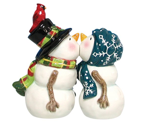 Magnetic Snow People Salt and Pepper Shaker Set Only $9.96 + FREE Prime Shipping (Reg. $36)!