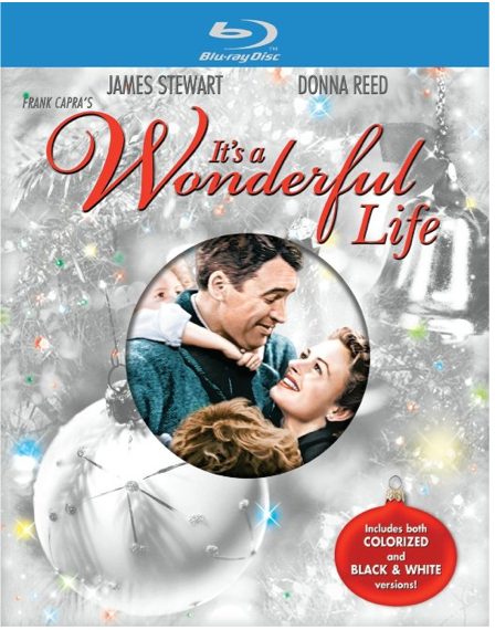 It's a Wonderful Life on Blu-ray Only $12.99 + FREE Prime Shipping (Reg. $40)!