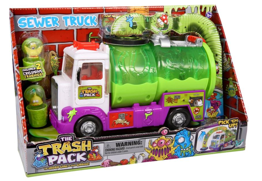 Trash Pack Sewer Truck Only $15.99 + FREE Prime Shipping (Reg. $25)!