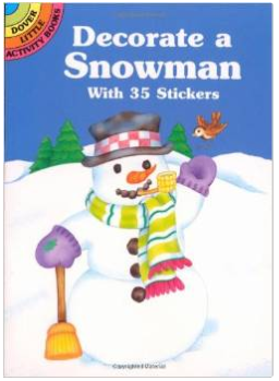 Decorate a Snowman With 35 Stickers $0.93 + FREE Prime Shipping!