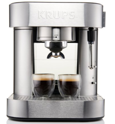 KRUPS XP601 Pump Espresso Machine with Thermo Block System $69.99 + FREE Shipping (Reg. $216)