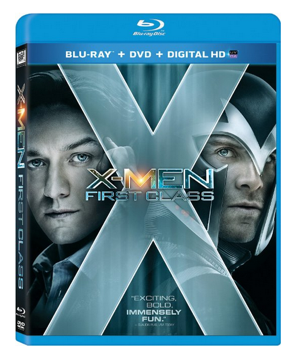 X-Men First Class On Blu-ray DVD Only $3.99 + FREE Prime Shipping (Reg. $25)!