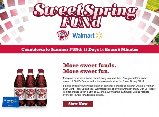 Win A Chunk Of The Spring #SweetFUNd From Diet Dr Pepper!