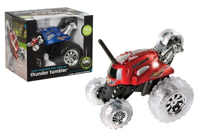 Black Series Thunder Tumbler Remote-Controlled Cars Just $14.99 (Reg. $40)!