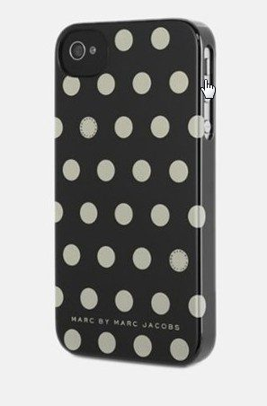 Marc Jacobs iPhone Black Polka Dots Snap Case Only $5 + FREE Shipping (Reg. $40)!
