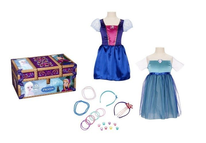 Disney Frozen Dress-Up Costumes, Jewelry & Trunk Only $22 + FREE Prime Shipping (Reg. $25)!