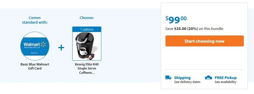Keurig Elite K40 As Low As $74 + FREE Shipping (After $25 Gift Card)!