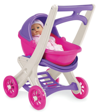 American Plastic Toy On the Go Stroller Just $9.88!  Down From $26.99!