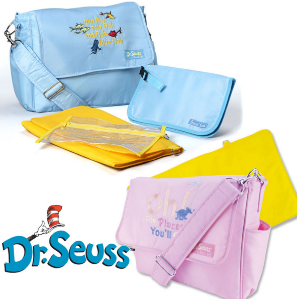 Dr. Seuss Diaper Bags Just $19.99!  FREE Shipping!