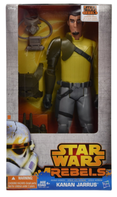 "Star Wars Hero Series 12"" Kanan Just $4.97!  Down from $16.99!"