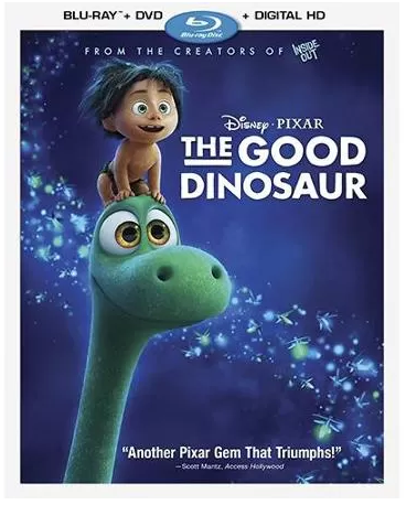 The Good Dinosaur (Blu-ray + DVD + Digital HD) Just $19.99! Down From $39.99!